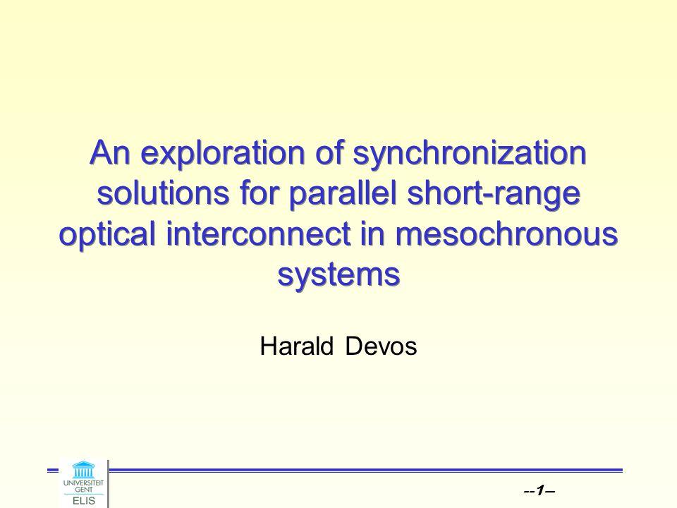 --22-- Synchronization Parallel ? T/2-J-S T S T/2n