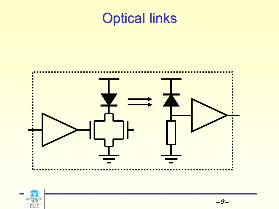 --9-- Optical links