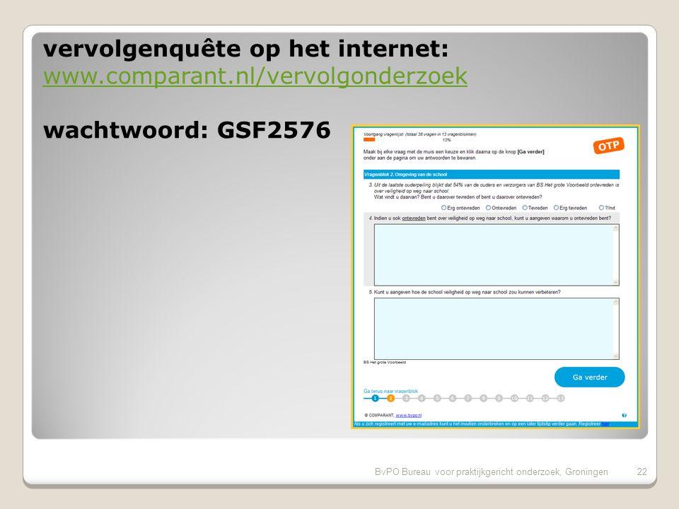 BvPO Bureau voor praktijkgericht onderzoek, Groningen21
