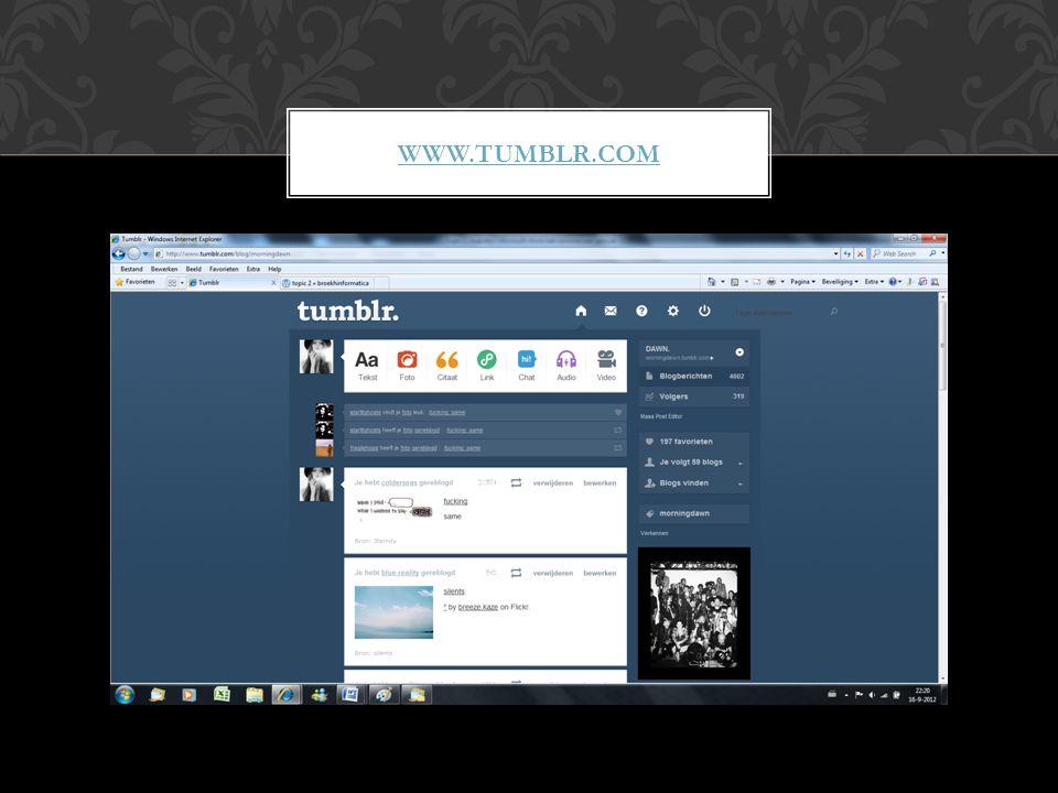 WWW.TUMBLR.COM