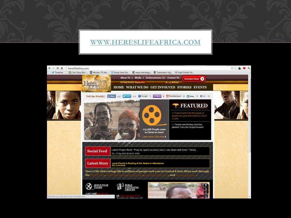 WWW.HERESLIFEAFRICA.COM