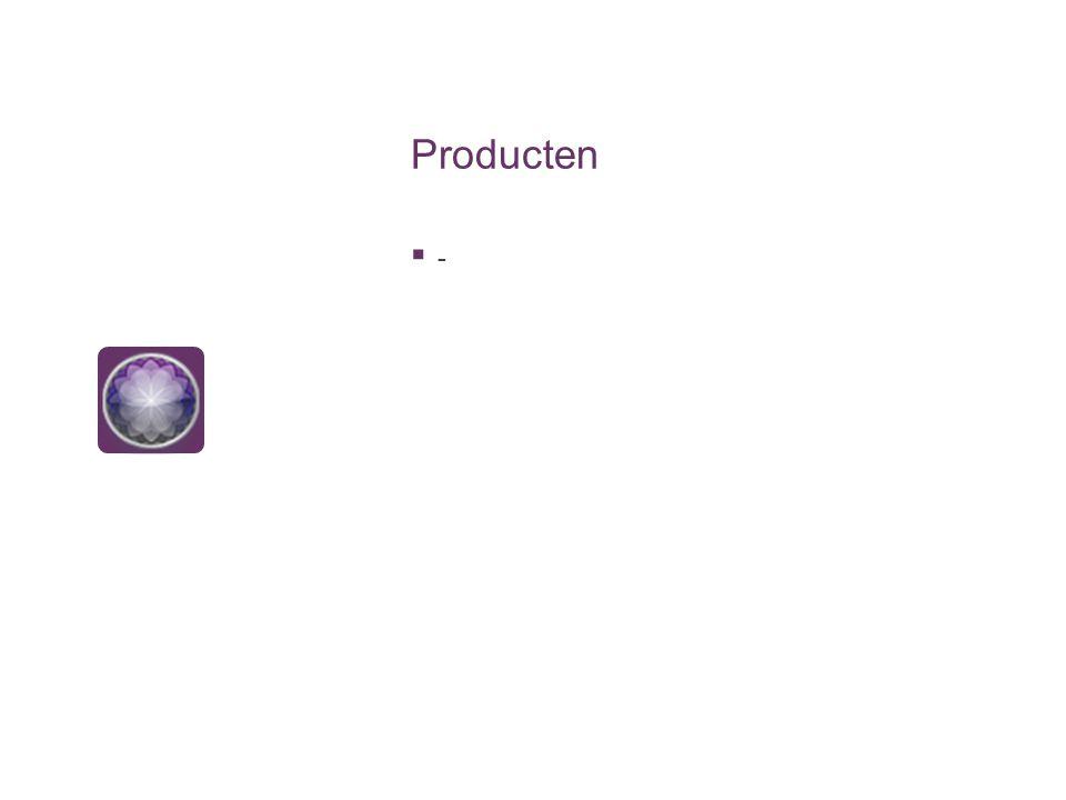 Producten --