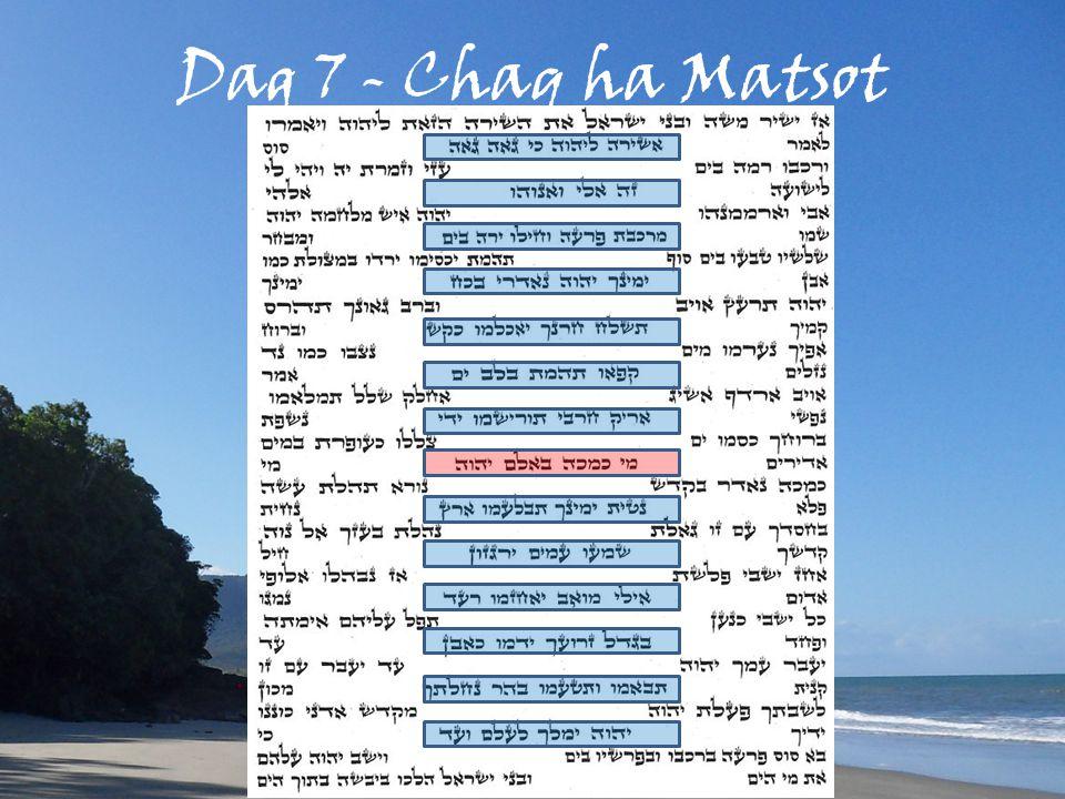 Dag 7 - Chaq ha Matsot