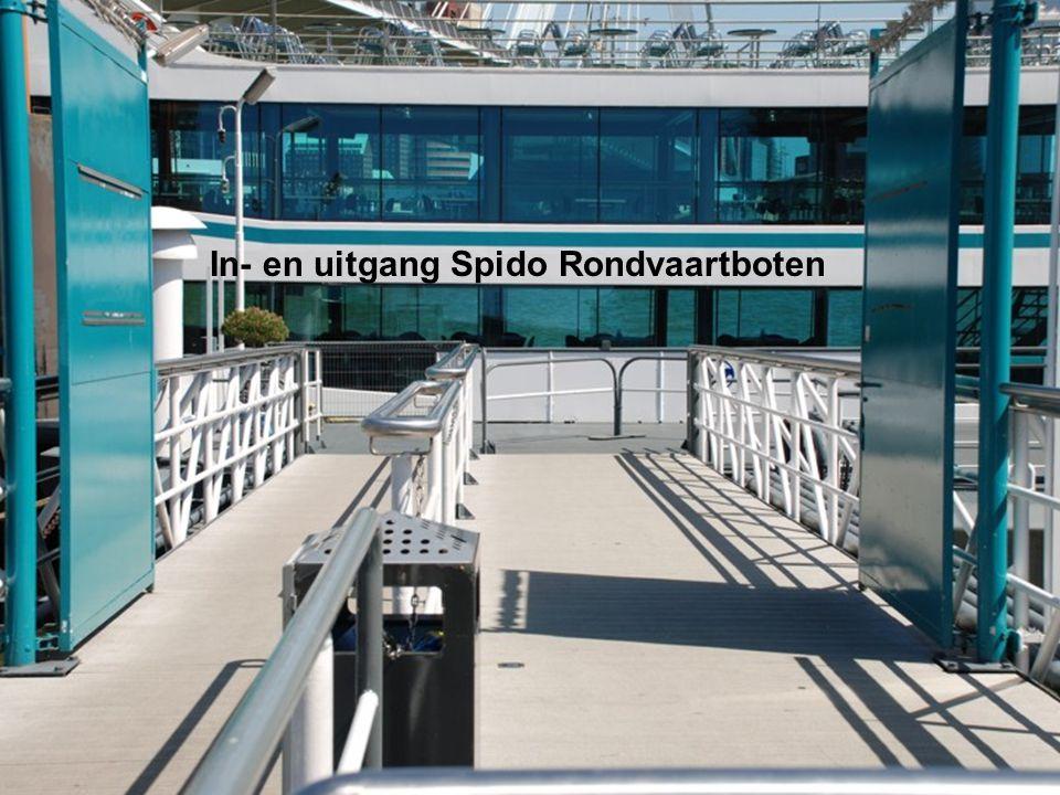 Daar gaan we richting Dordrecht en de fiets mag mee