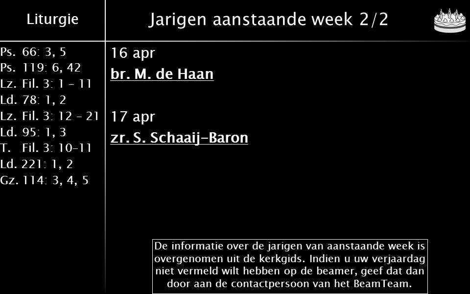 Gereformeerd Drachtster Mannenkoor o.l.v.Bert van de Wetering met o.a.