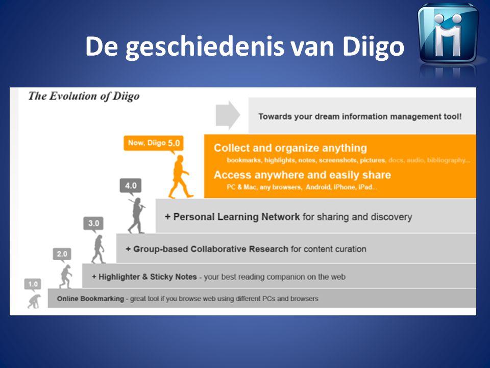De geschiedenis van Diigo