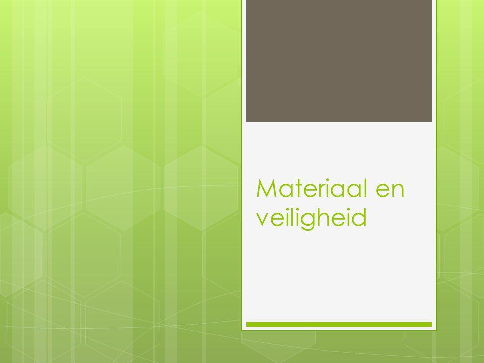 Doel van de les Aan het einde van de les:  Ken je materialen die worden gebruikt in de (bouw) techniek  Weet je wat PBM inhoudt  Weet je wanneer PBM's gebruikt worden