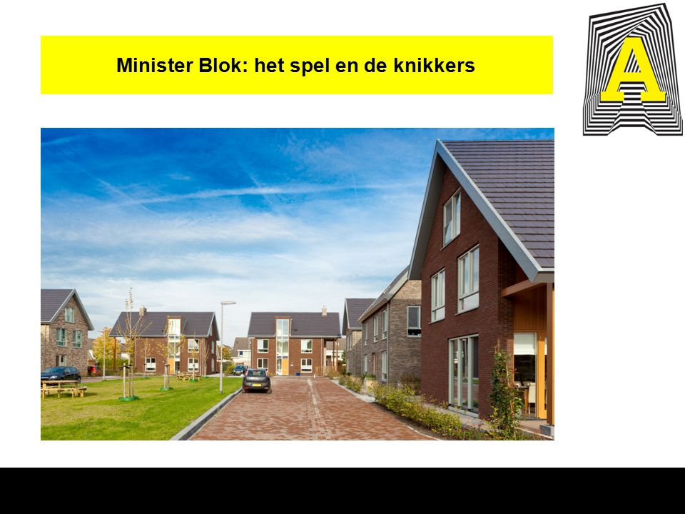 Minister Blok: het spel en de knikkers