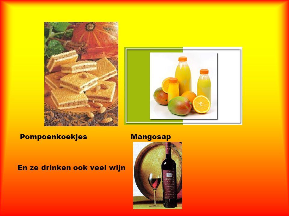 Pompoenkoekjes Mangosap En ze drinken ook veel wijn