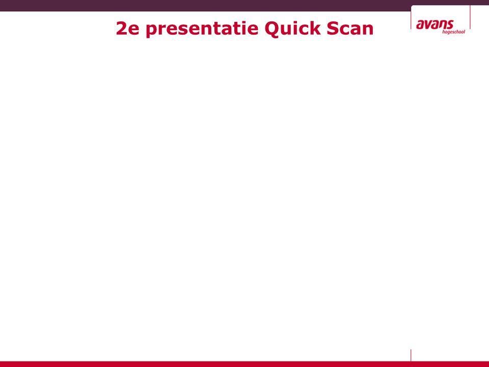 2e presentatie Quick Scan