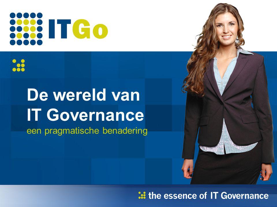 Alle groepen Succes in uitvoering IT Governance.Wat houdt de CIO in 2009 bezig.