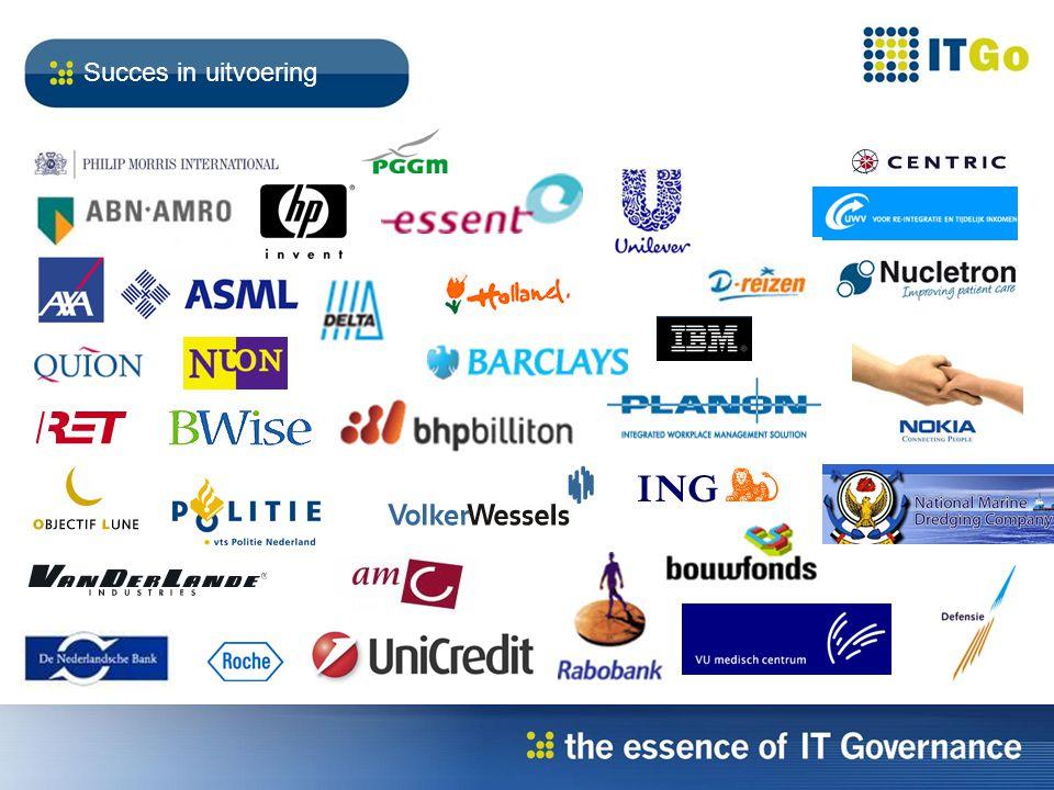 Verkrijgen van grip en controle om regie te kunnen voeren over de business bijdrage van IT IT Governance?