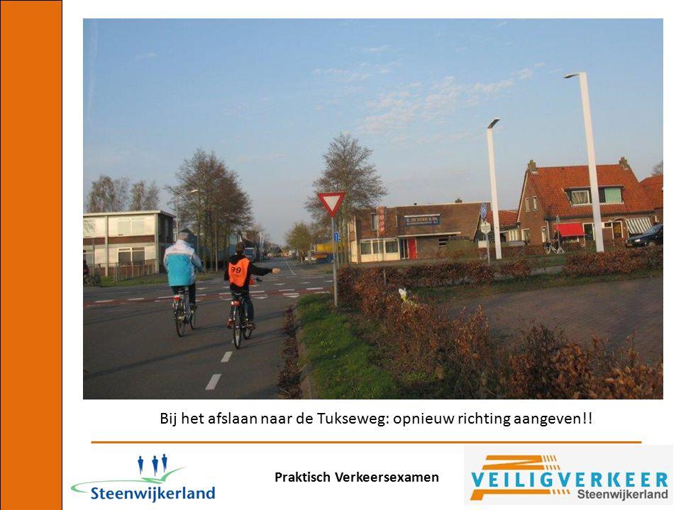 Praktisch Verkeersexamen En ook hier heeft de fietser van rechts voorrang!!