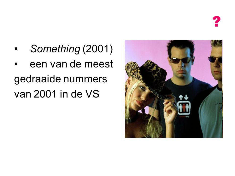 Something (2001) een van de meest gedraaide nummers van 2001 in de VS ?