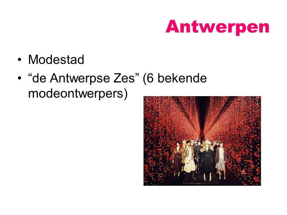 """Antwerpen Modestad """"de Antwerpse Zes"""" (6 bekende modeontwerpers)"""