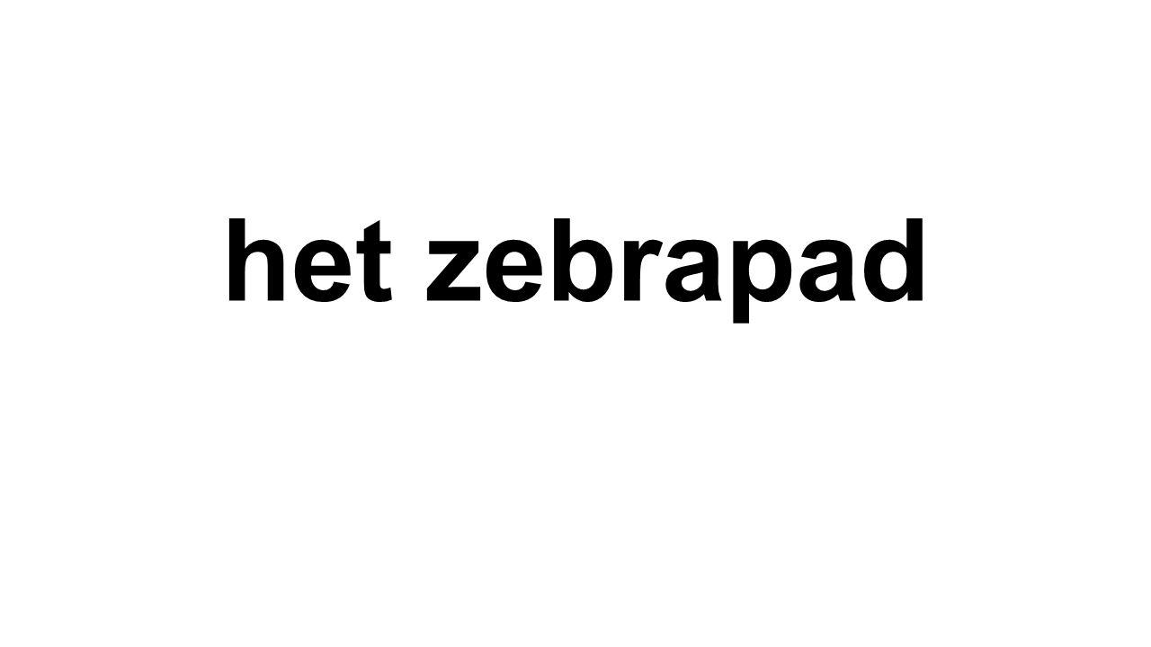 het zebrapad