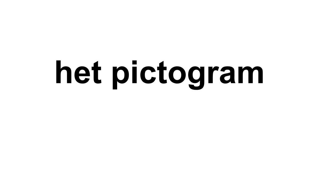 het pictogram