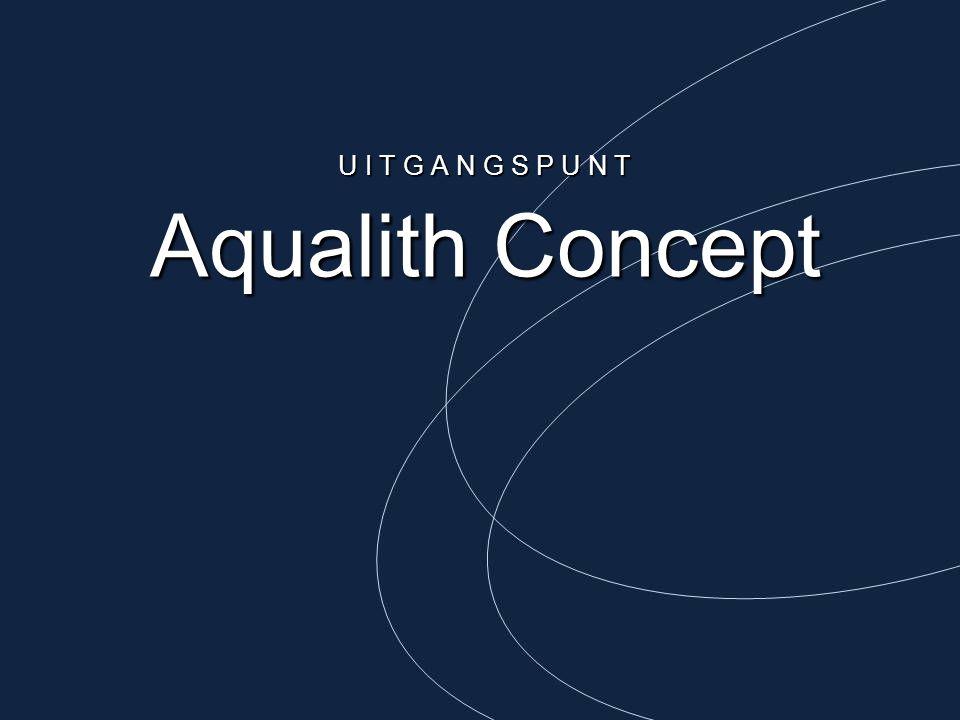 Aqualith Concept U I T G A N G S P U N T