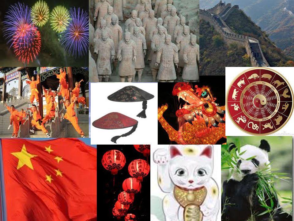 China Aantal inwoners: 1,3 miljard Hoofdstad: Peking (Beijing Oppervlakte van het land: 9.596.961 km² Taal die er gesproken wordt: Mandarijn (Chinees) Munteenheid: Chinese Yuan http://www.youtube.com/watch?v=8KhqrHrS2o w http://www.youtube.com/watch?v=8KhqrHrS2o w