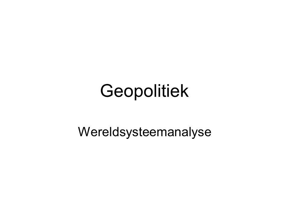 Geopolitiek Wereldsysteemanalyse