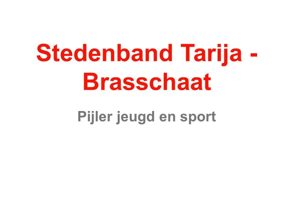 Stedenband Tarija - Brasschaat Pijler jeugd en sport