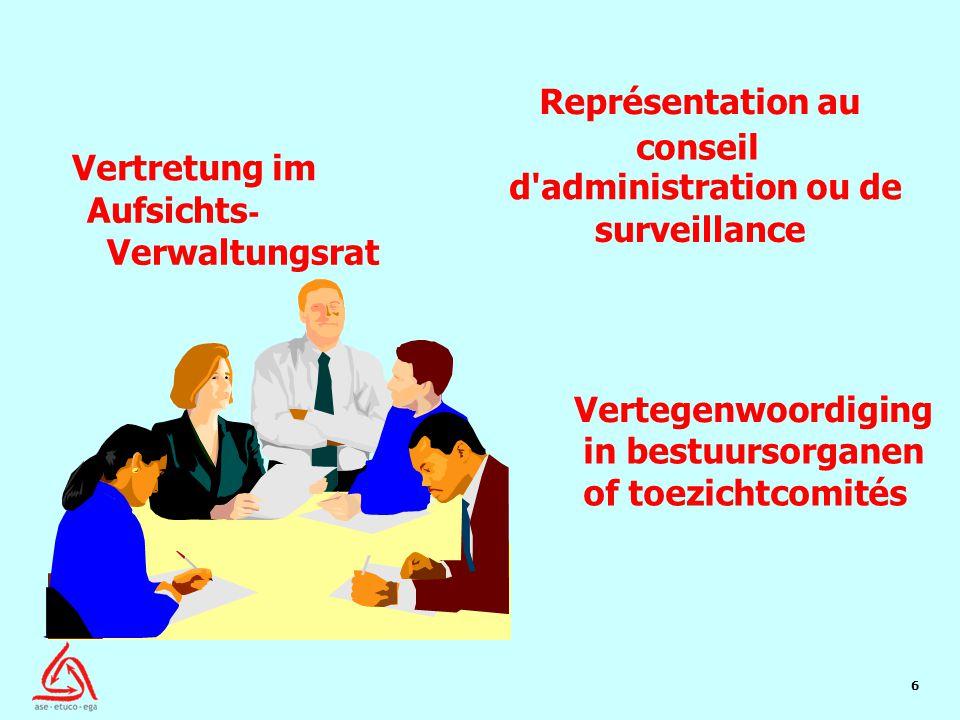 7 Board Represen tation 2 openbare sector