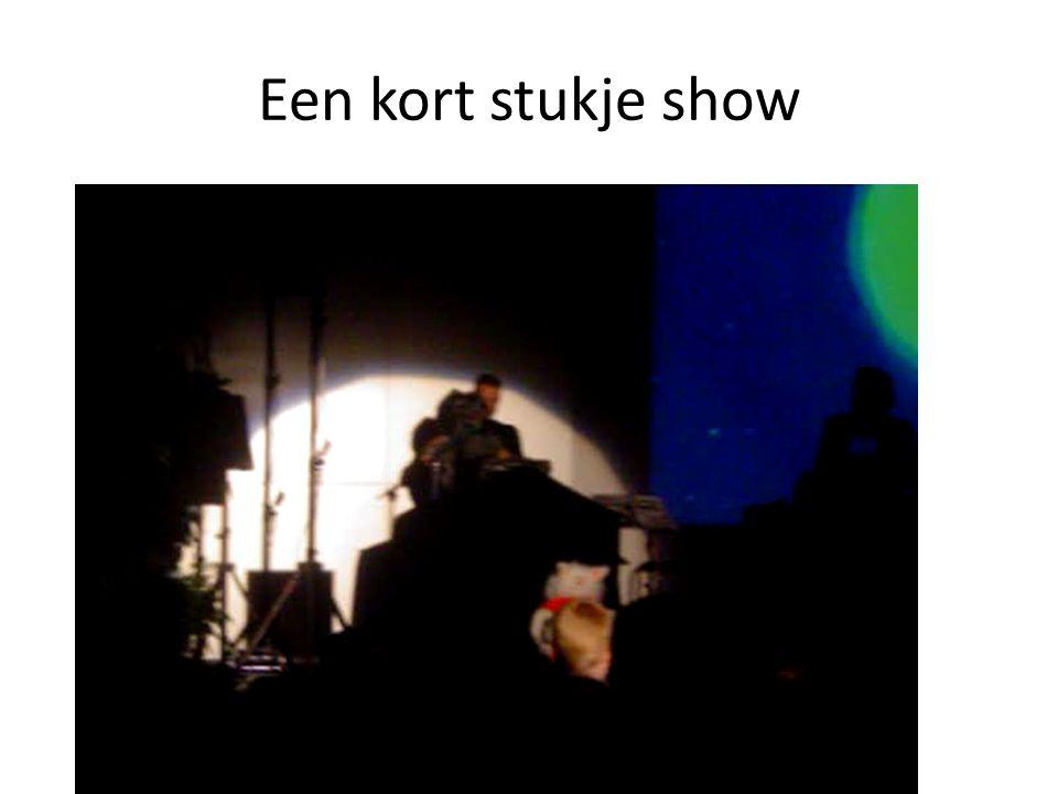 Een kort stukje show
