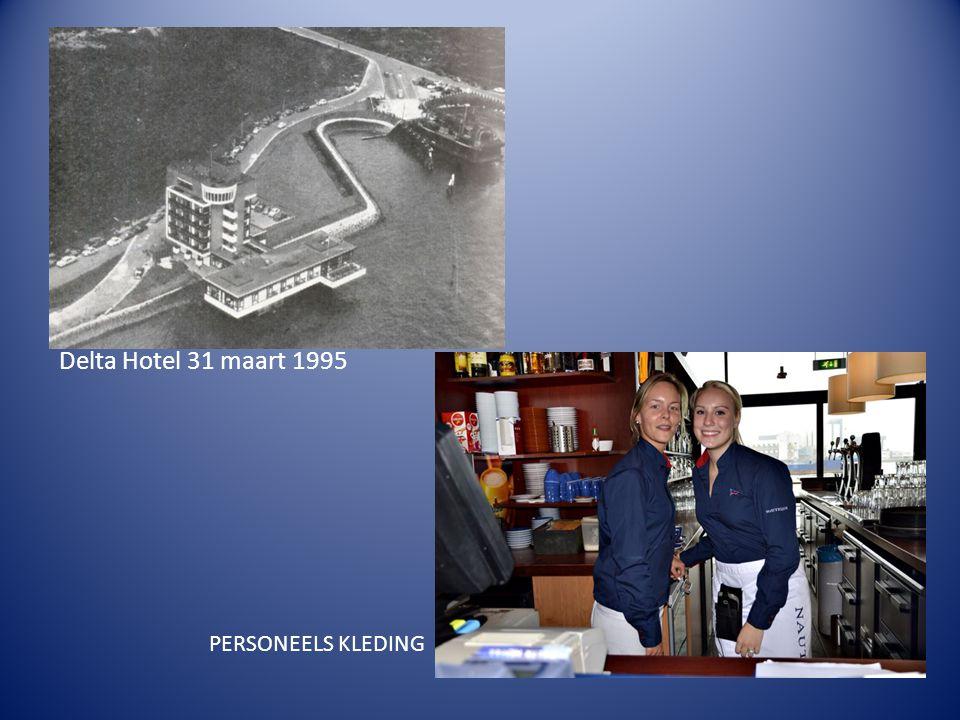 PERSONEELS KLEDING Delta Hotel 31 maart 1995