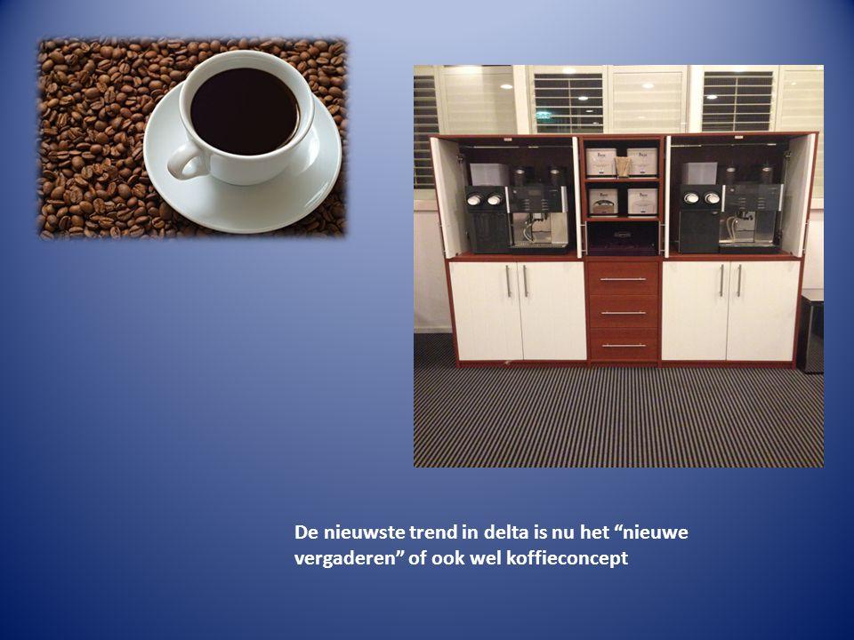 De nieuwste trend in delta is nu het nieuwe vergaderen of ook wel koffieconcept