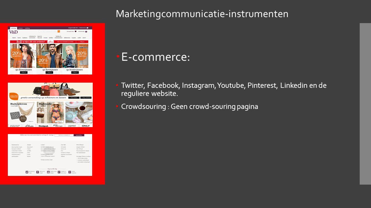  Marketingcommunicatie-instrumenten Direct marketing : mail en folders