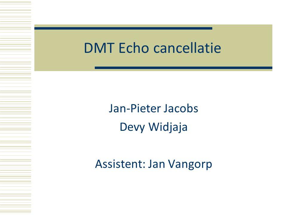 DMT en ADSL  Wat is DMT.