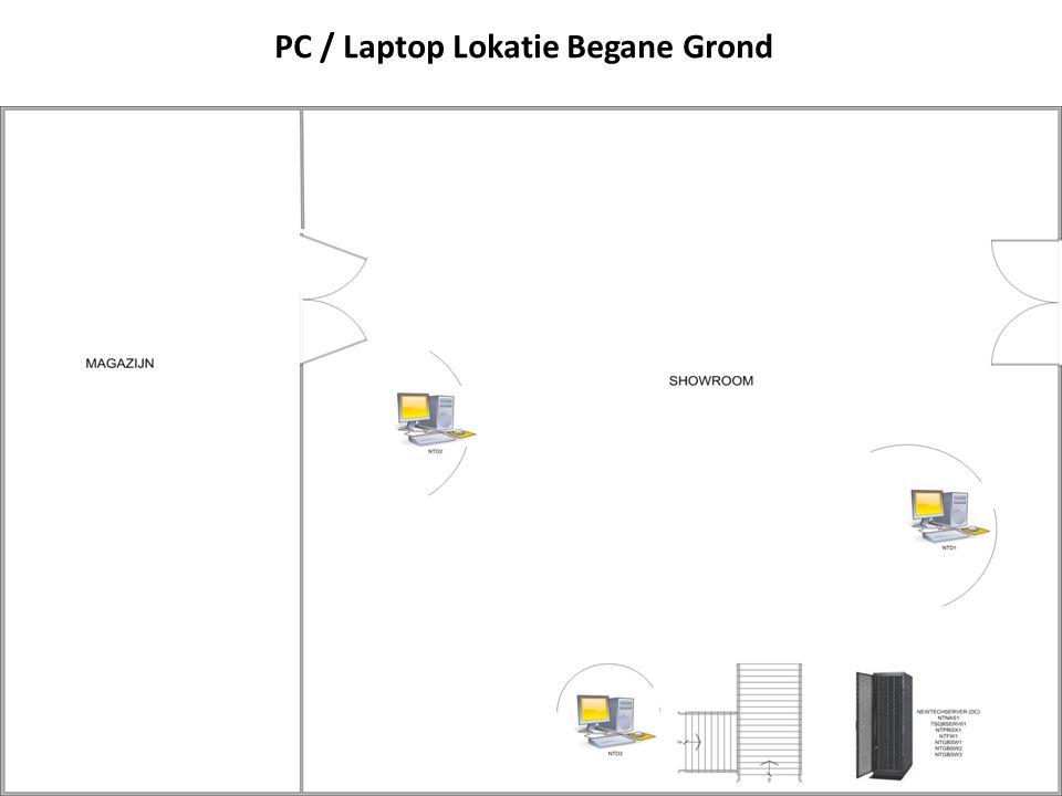 PC / Laptop Lokatie Begane Grond