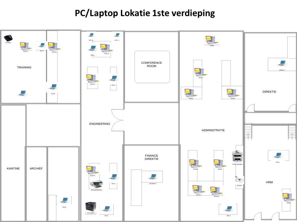 PC/Laptop Lokatie 1ste verdieping