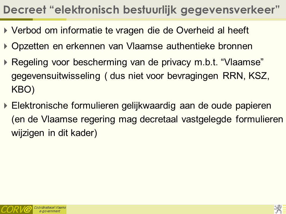 Coördinatiecel Vlaams e-government 1 van 50 25/04/2015 Het MAGDA- dienstenaanbod CORVE Coördinatiecel Vlaams e-government (CORVE) E-mail: geert.mareel
