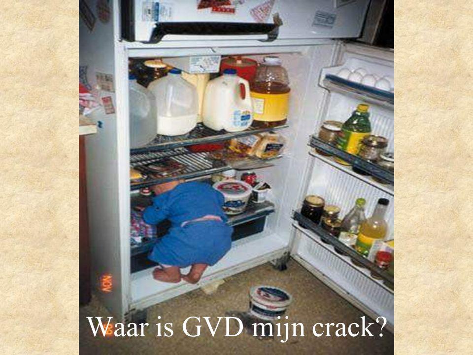 Waar is GVD mijn crack