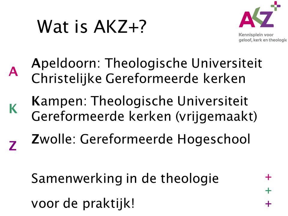 Wat is AKZ+.