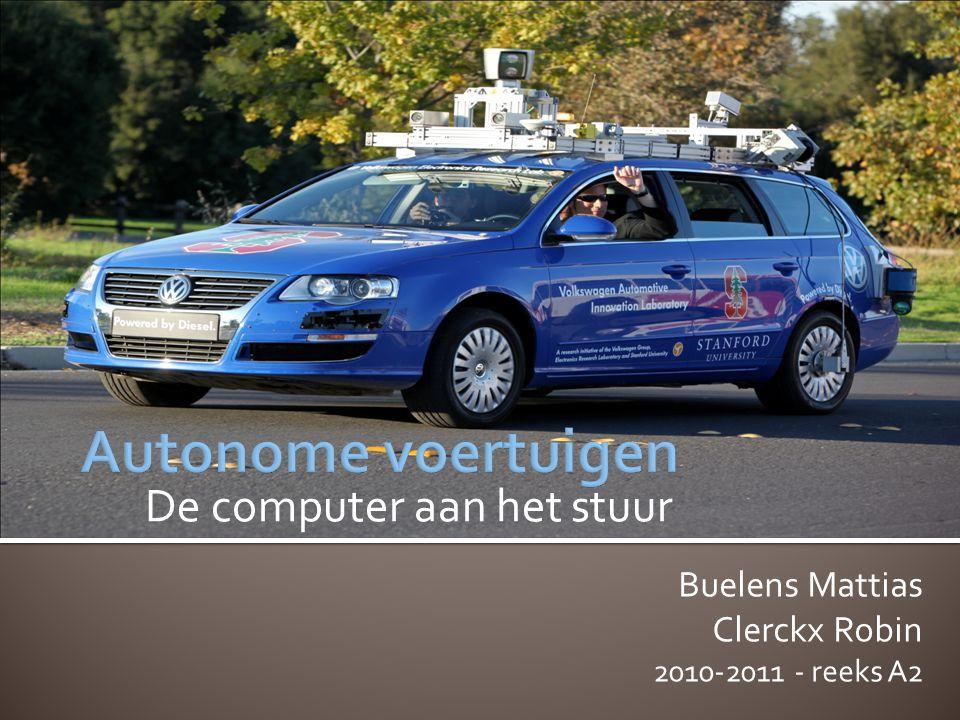 De computer aan het stuur Buelens Mattias Clerckx Robin 2010-2011 - reeks A2
