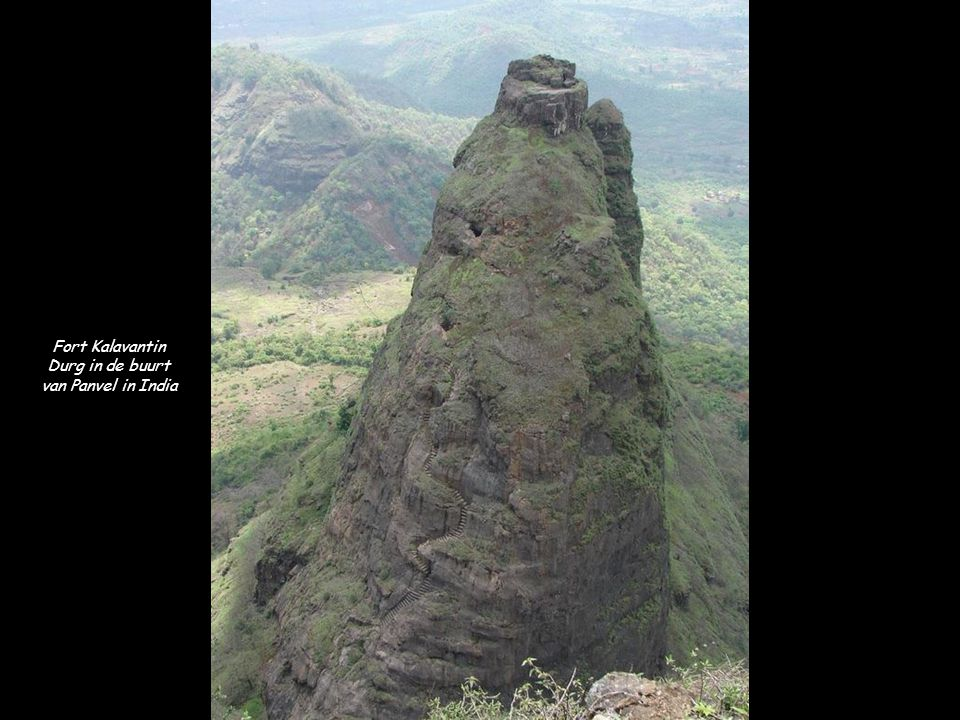 Fort Kalavantin Durg in de buurt van Panvel in India