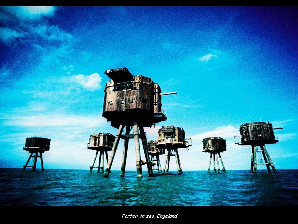 Forten in zee, Engeland