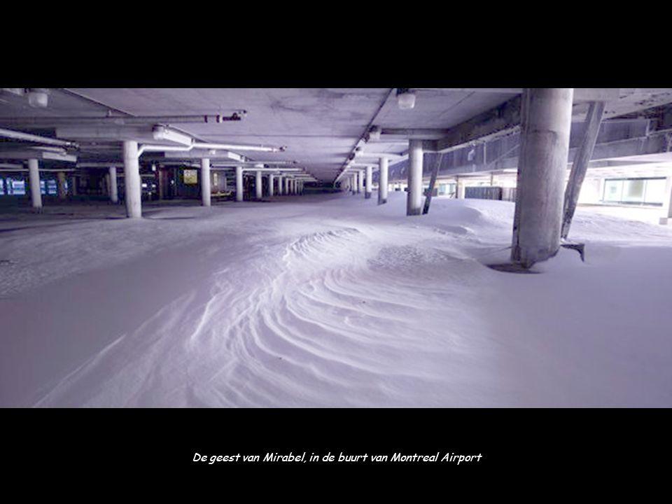 De geest van Mirabel, in de buurt van Montreal Airport