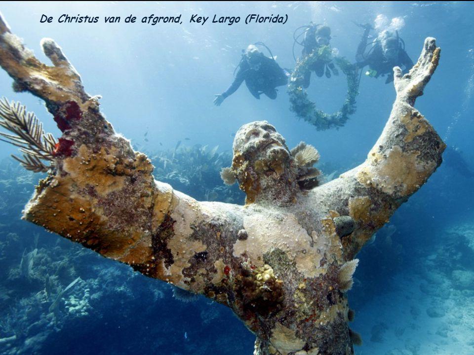 De Christus van de afgrond, Key Largo (Florida)