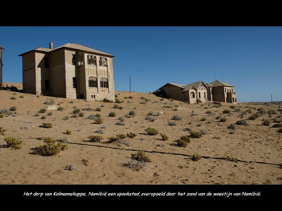Bodie, een spookstad in Californië