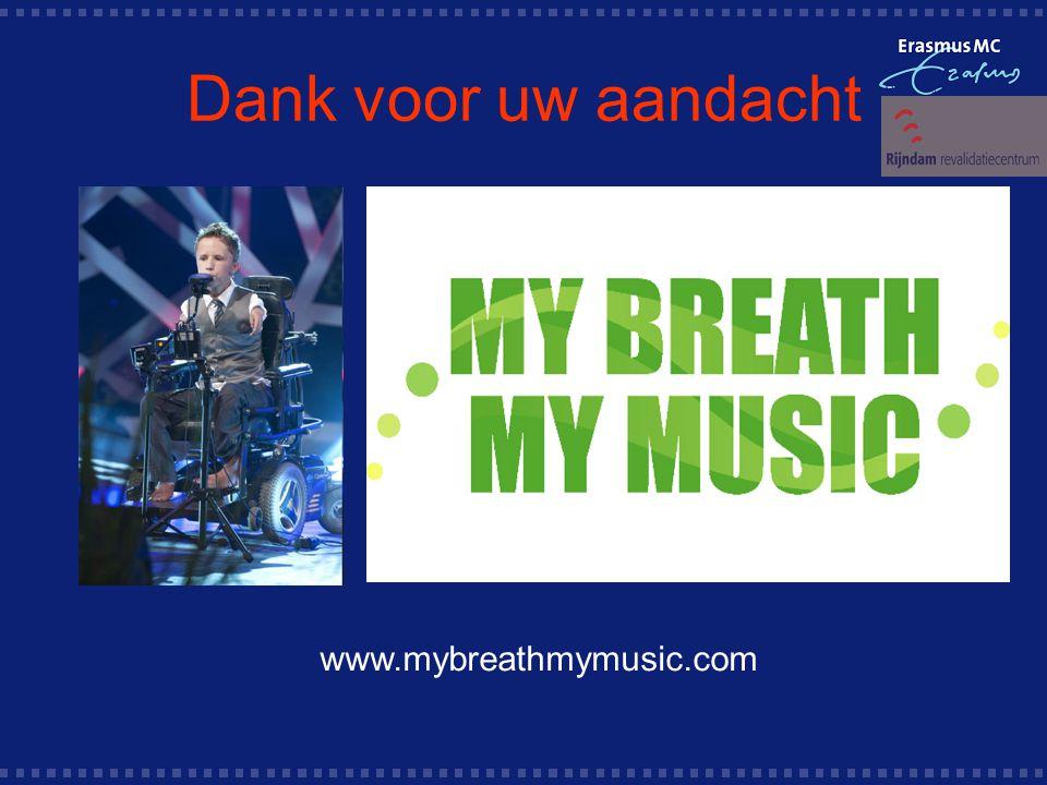 Dank voor uw aandacht www.mybreathmymusic.com