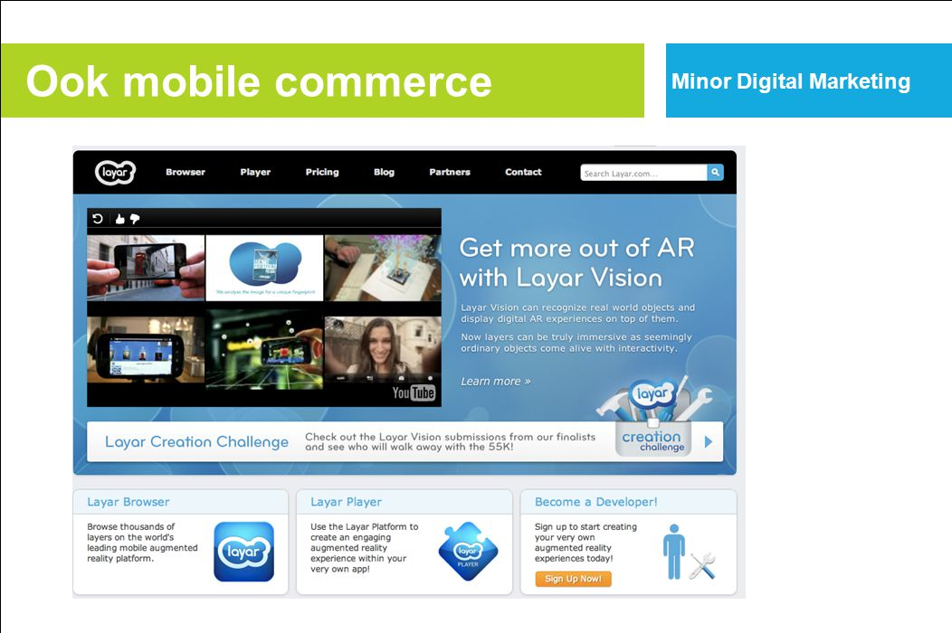 Ook mobile commerce Minor Digital Marketing