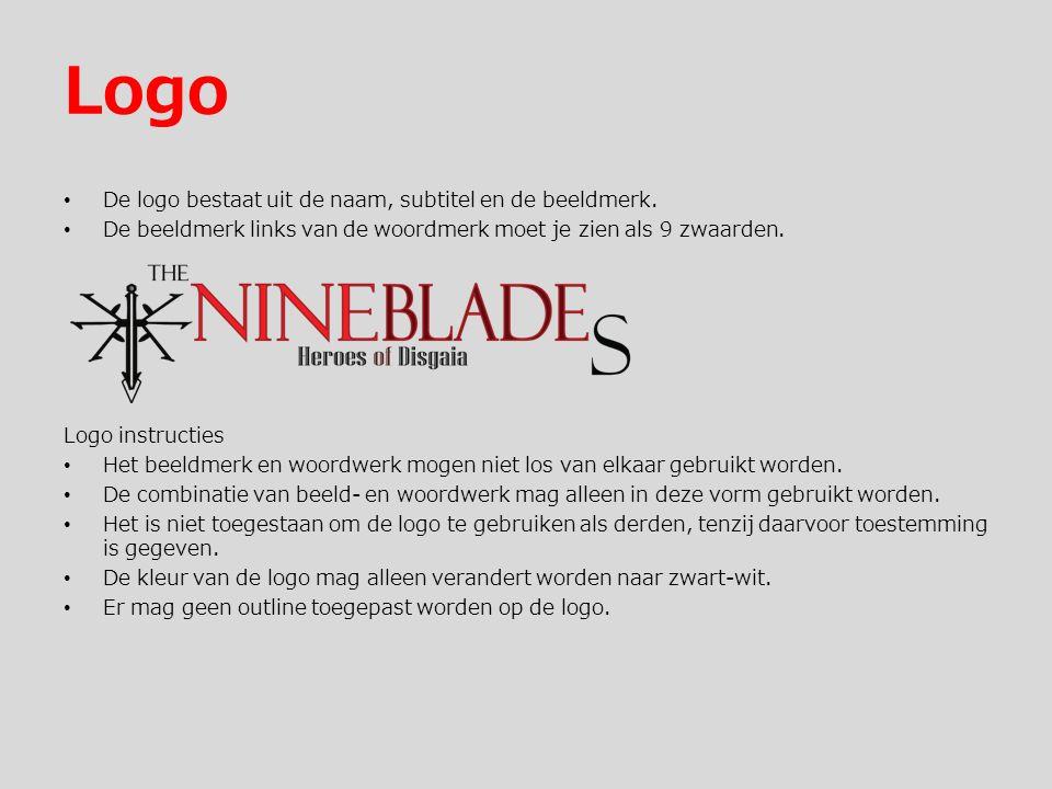 Logo De logo bestaat uit de naam, subtitel en de beeldmerk.