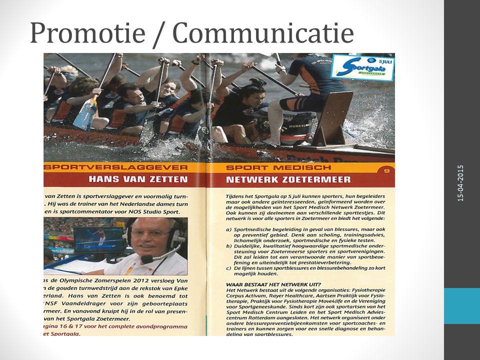http://www.sportzorg.nl/zoetermeer 15-04-2015