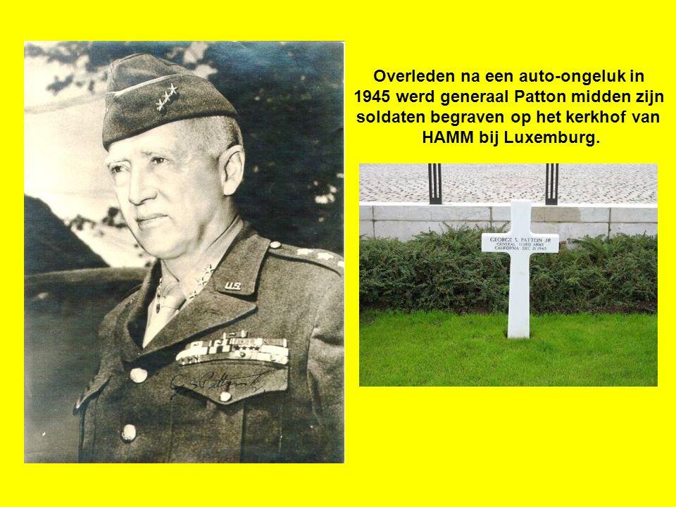 Op deze plek vervoegde in de avond van 26 – 12 - 1944 de 4 e pantserdivisie van het 3 e leger van generaal Patton de 101 e Airborne divisie, aldus de