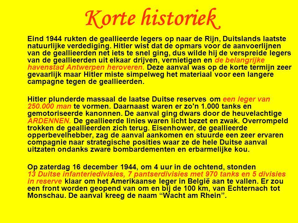 Eind 1944 rukten de geallieerde legers op naar de Rijn, Duitslands laatste natuurlijke verdediging.