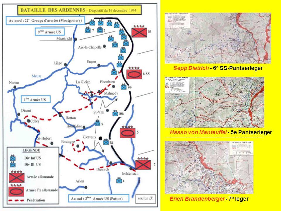 Er hadden nog bloedige gevechten plaats, dikwijls met het blanke wapen, tot er op 18 januari 1945 een einde kwam aan de slag in de Ardennen. Dit zinlo