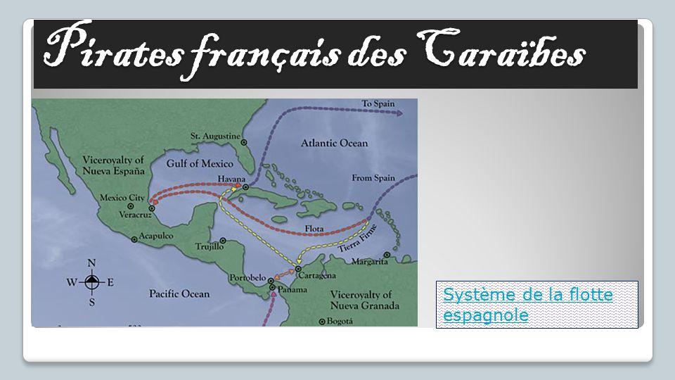 Pirates français des Caraïbes Système de la flotte espagnole